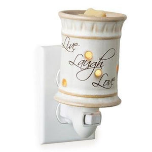 'Live-Love-Laugh' Plug In Fragrance Melter
