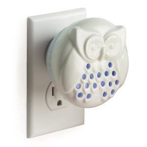 "LESS THAN HALF PRICE!!!  ""Owl"" Electric Pebble Plug In Oil Diffuser with FREE Oil"