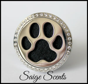 """Paw Print"" Car Locket Fragrance System"