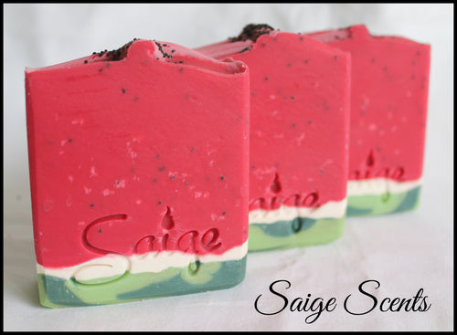 Watermelon Lemonade Soap