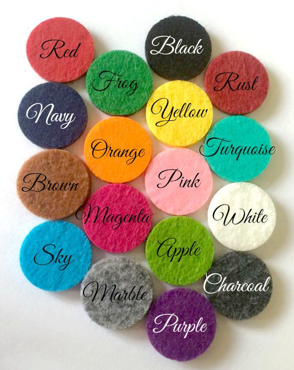 Replacement Scent Pads for Car Lockets