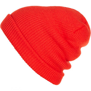 O'Neill Alpha Red Dolomiti Beanie Warm Winter Snowboard Ski Hat Slouchy Baggy