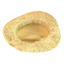 womens straw western hat