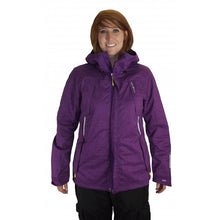 O'Neill Womens M Purple Winter Warm Windproof Hooded Snowboard Ski Jacket Coat