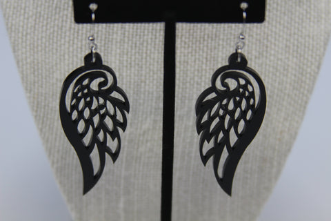 Wings - Boucle d'oreille acrylique (Acrylic earrings)