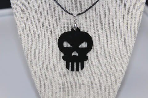 Punisher - Collier acrylique (Acrylic necklace)
