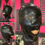 The Kink Latex Hood with perforated eyes