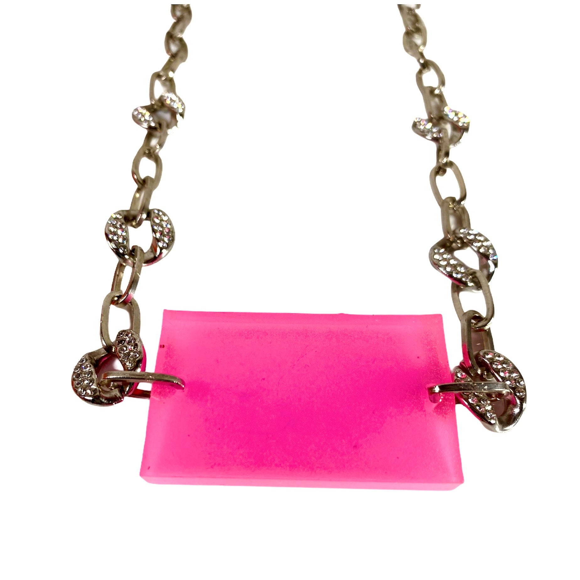 Candy pink necklace
