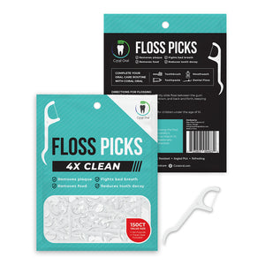 Floss Picks - 150 Count with Travel Case