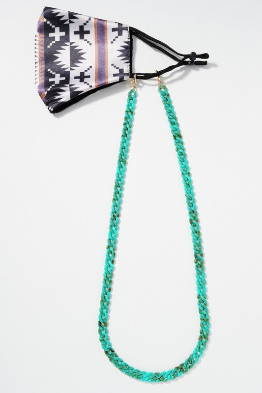 Acetate Link Mask Chain
