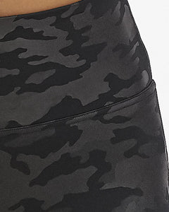 Faux Leather Camo Legging- Spanx