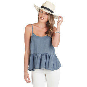 Bel Air Peplum Top
