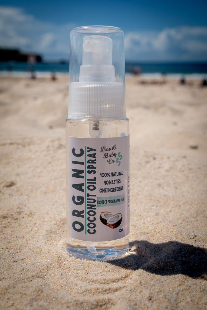 Organic Coconut Oil Spray - Travel (50ml)