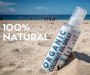Organic Coconut Oil Spray - Nappy bag (100ml)
