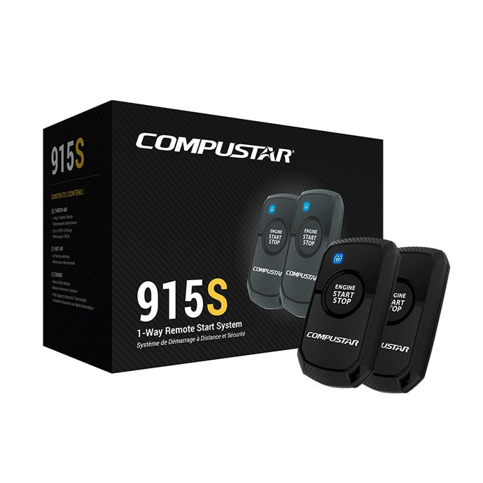 Remote Car Starter 1-Way - Compustar CS915-S