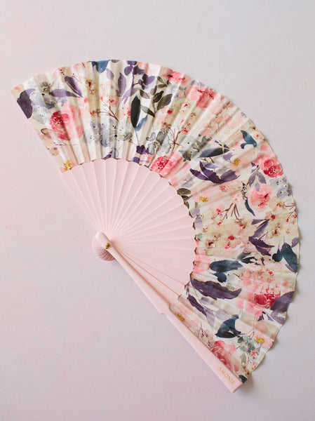 'Spring Bouquet' Silk Fan