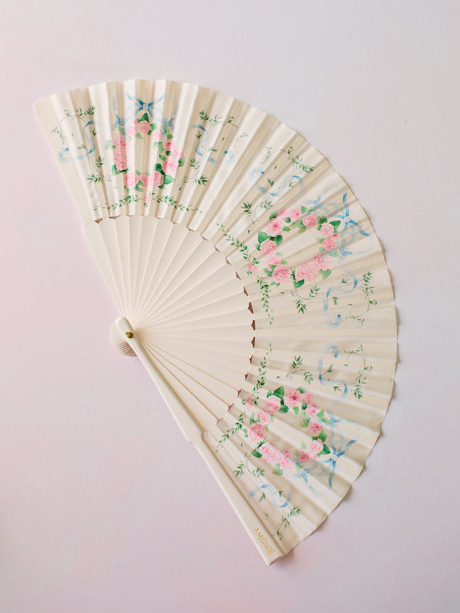 'The Antoinette' Silk Fan