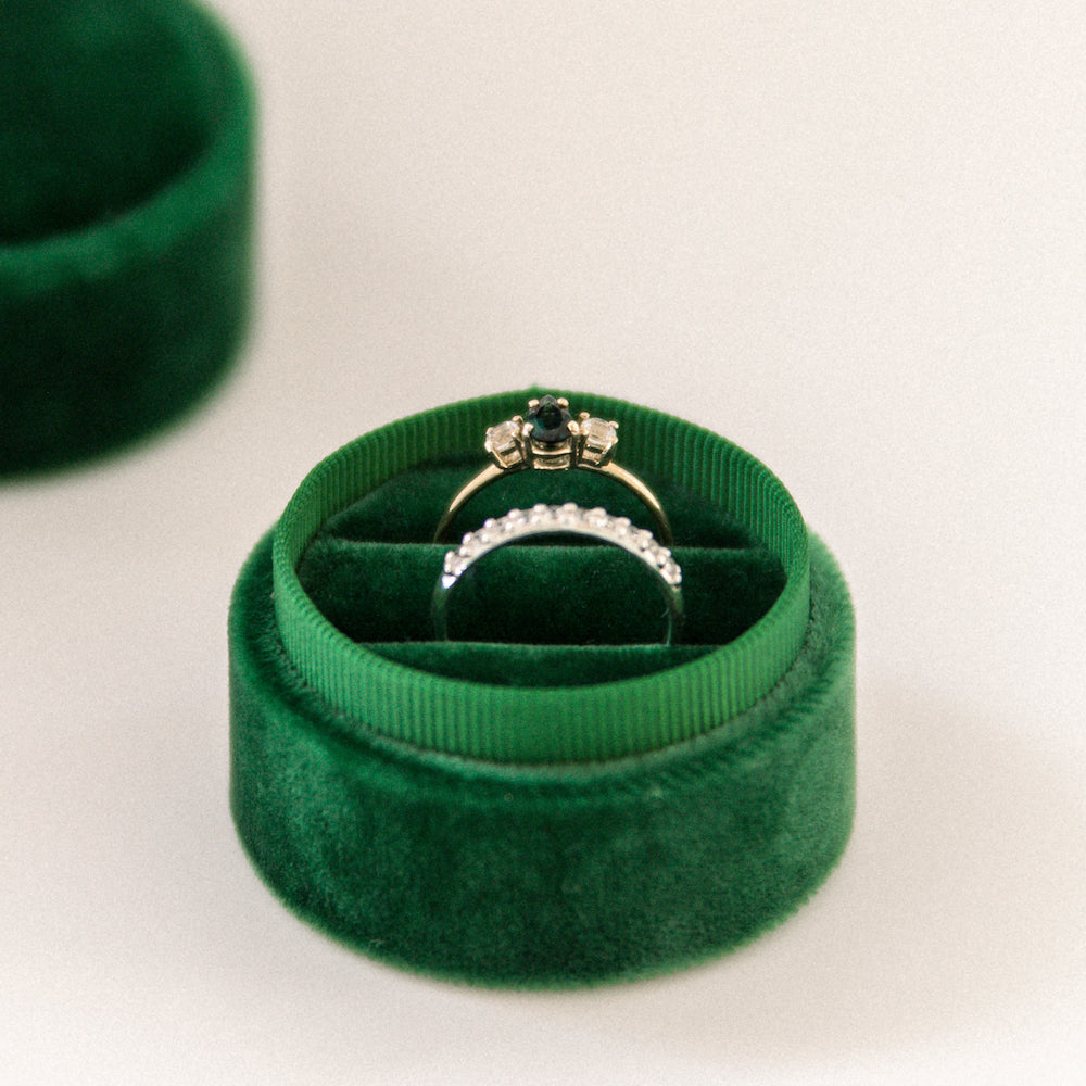 Emerald - Double Ring Box