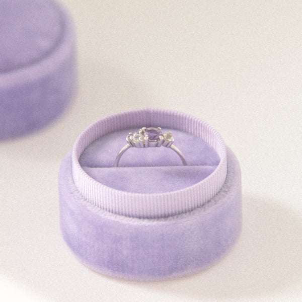 Lilac - Single Ring Box