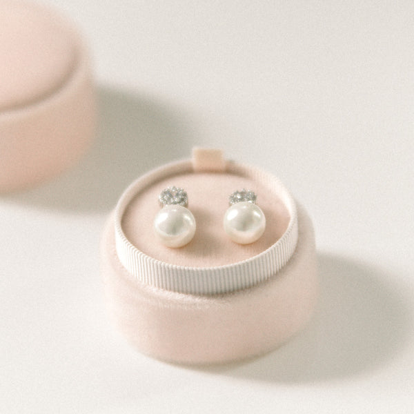 Earring Box - Light Dusty Pink