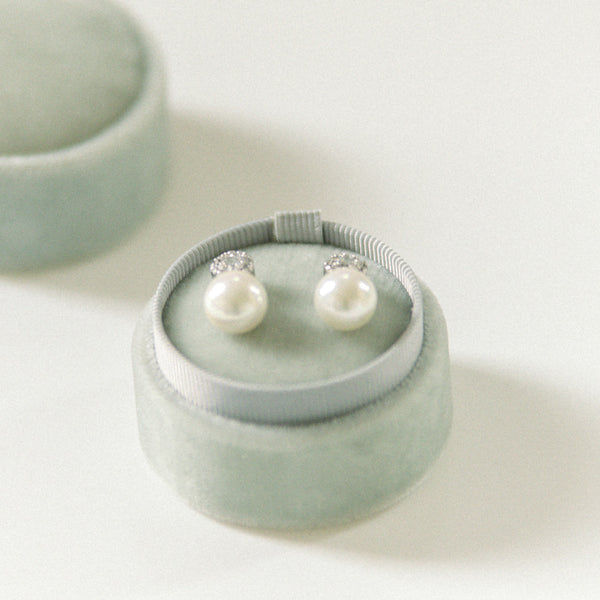 Earring Box - Light Grey