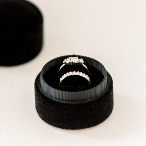 Black - Double Ring Box