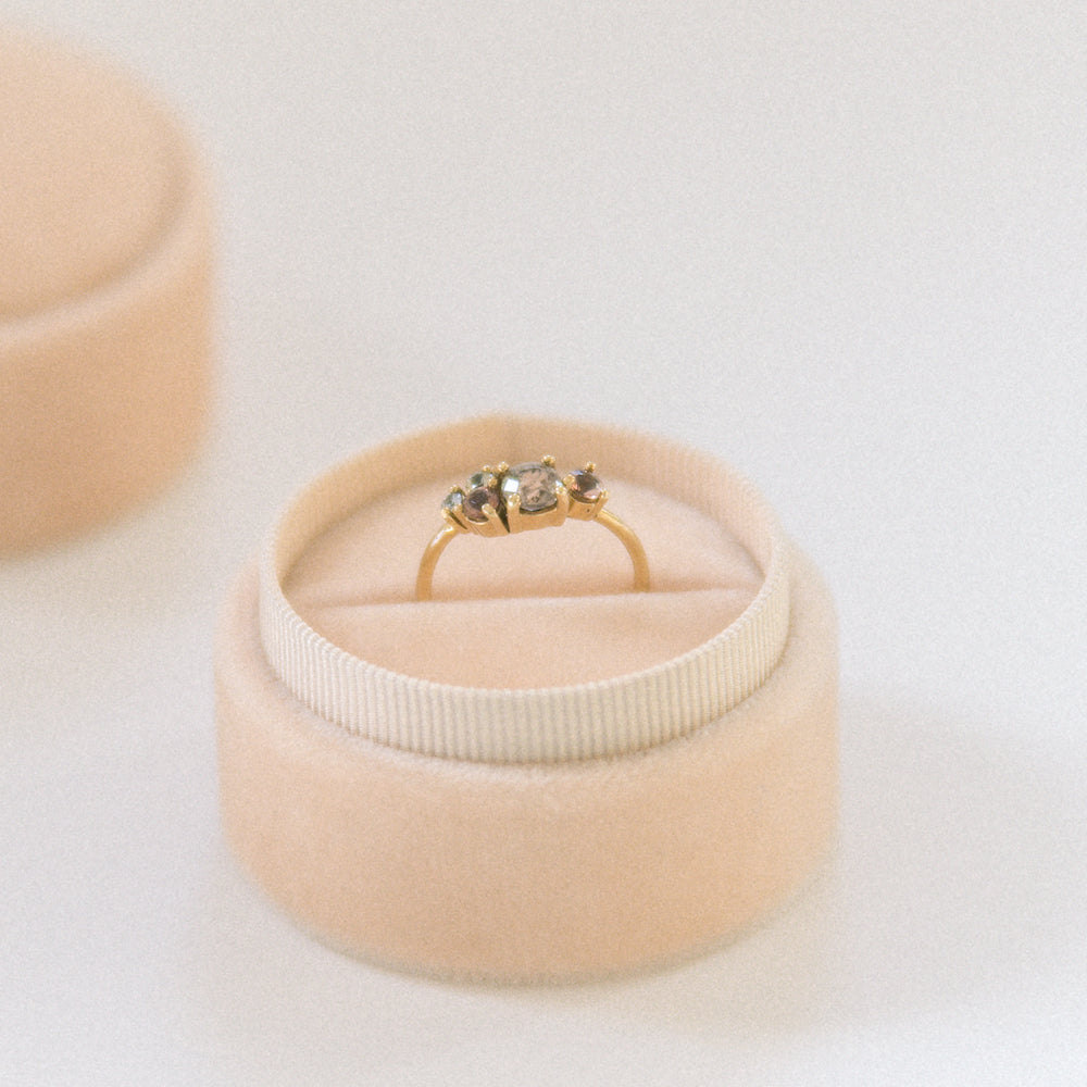 Champagne Ring Box