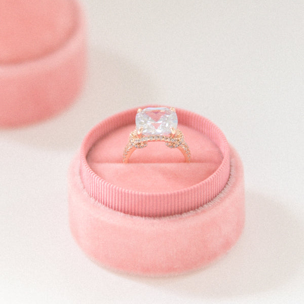 Dusty Rose Ring Box