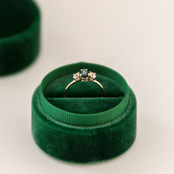 Emerald Ring Box