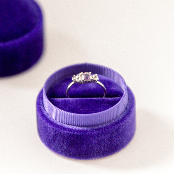 Ultra Violet - Single Ring Box