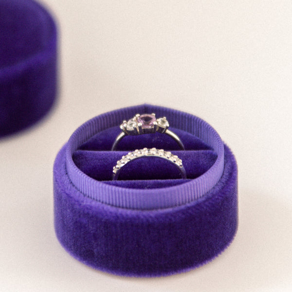Ultra Violet - Double Ring Box