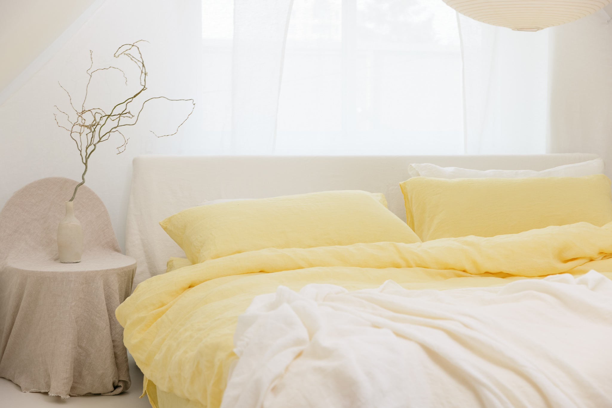 New Spring Linen Bedding Colors By Somn Home