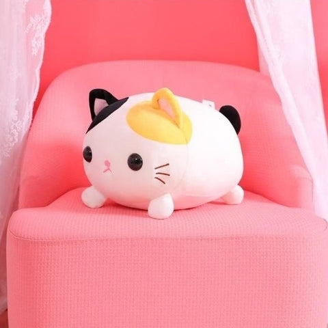 "Super Soft Kawaii Cat Plush 18""/45cm Colorful"