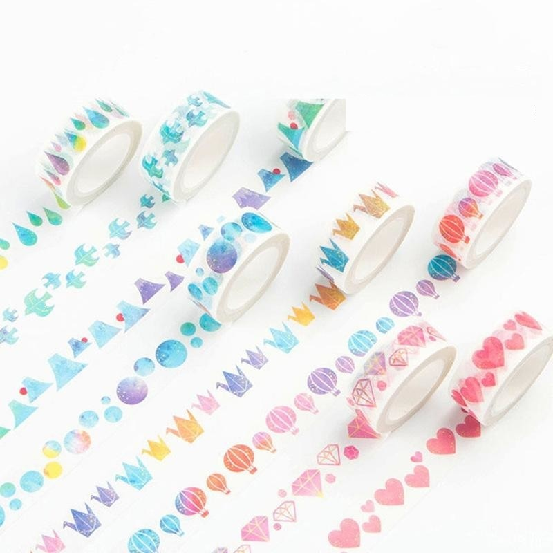 Watercolor Shapes Washi Tape