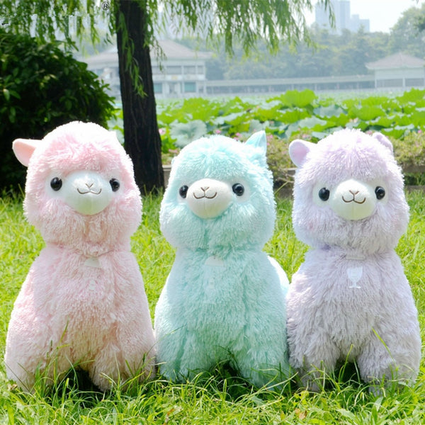 Japanese Alpaca Plush Stuffed Animal