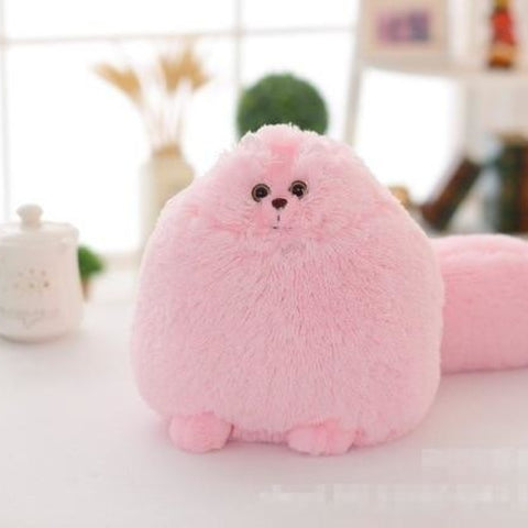 Pink Kawaii Fluffy Kitty Plush Toy Stuffed Cat