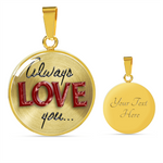 Charmed Always Love You Necklace Bangle
