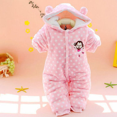 Pink Monkey Polar Fleece