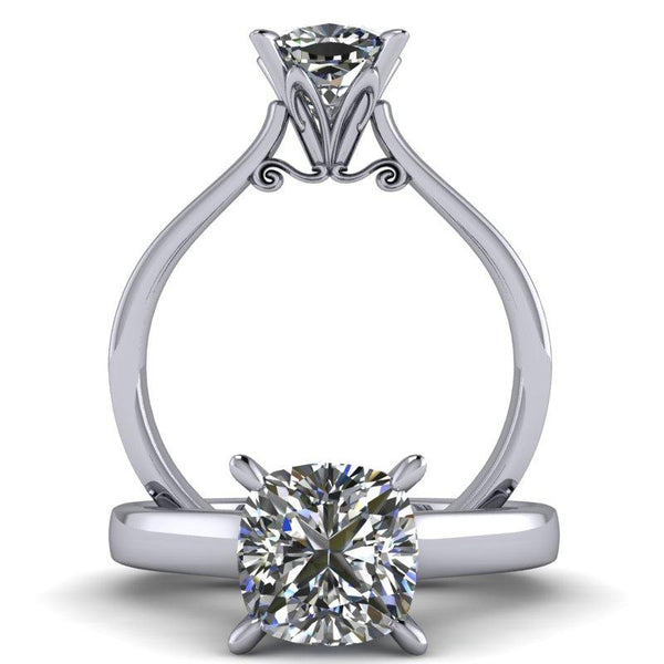 Alana - Cushion or Asscher Cut