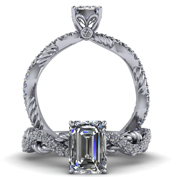 Elizabeth - Emerald or Radiant Cut