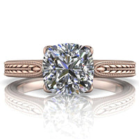 Ava - Cushion or Asscher Cut - I Forever Do
