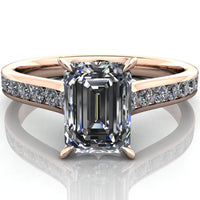 Alexandra - Emerald or Radiant Cut - I Forever Do