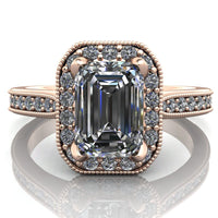 Isabella - Emerald or Radiant Cut - I Forever Do