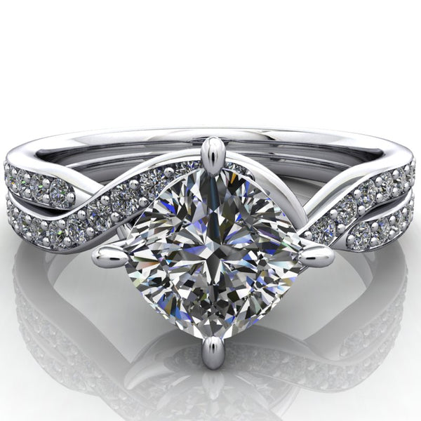 Winnie - Cushion or Asscher Cut - I Forever Do
