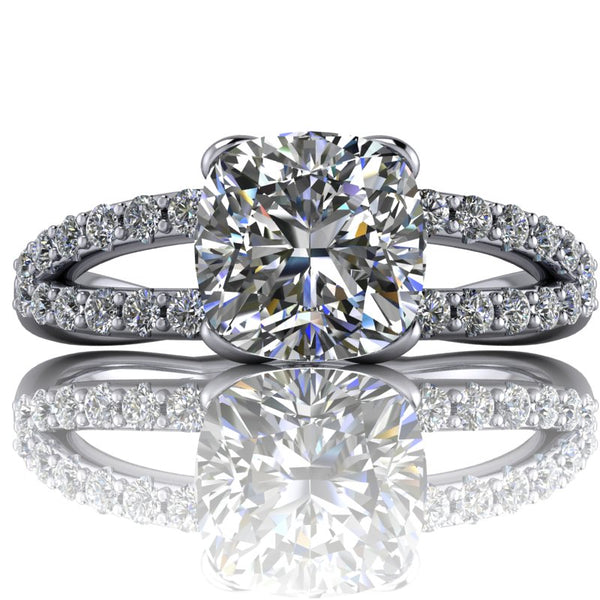 The Original Kindred- Cushion or Asscher Cut - I Forever Do