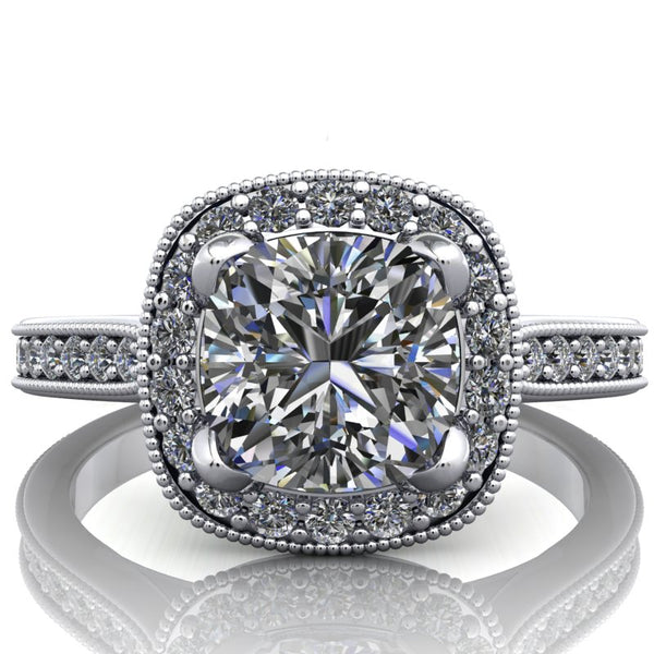 Isabella - Cushion or Asscher Cut - I Forever Do