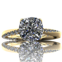Meagan - Cushion or Asscher Cut - I Forever Do