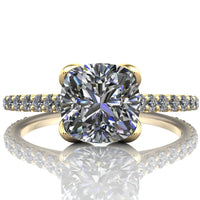 Samantha - Cushion or Asscher Cut - I Forever Do