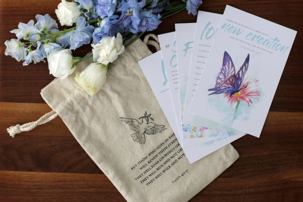 'New Life' Cards and Pouch Set-Parables