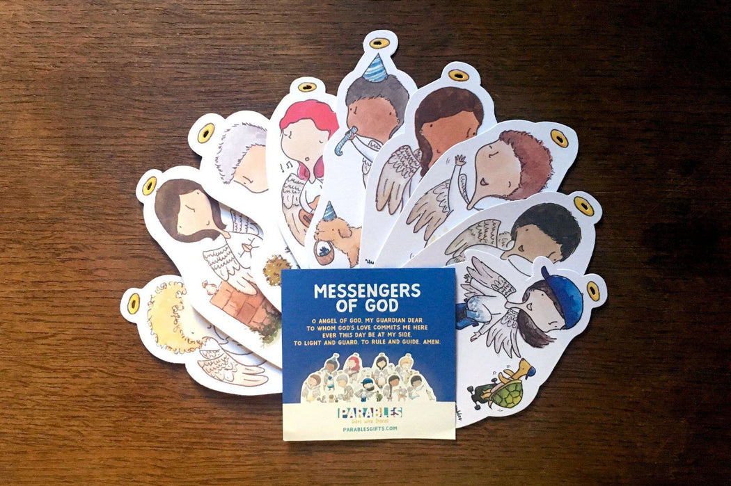 'Messengers of God' Postcard Set-Parables